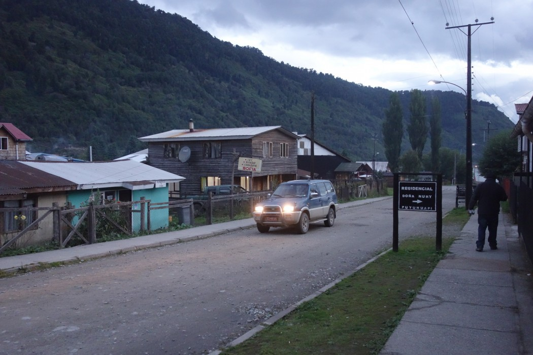 Carretera Austral: Miejscowość Puyuhuapi