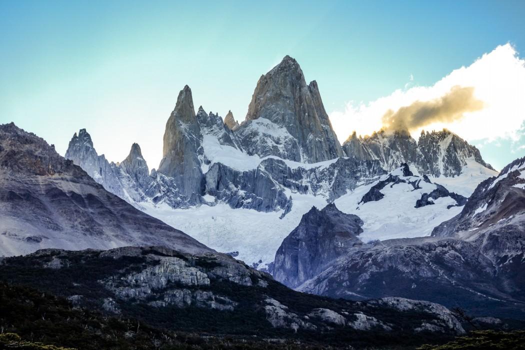 Góra Fitz Roy w Argentynie