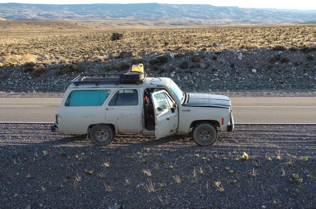 Ruta 40: W okolicy Bajo Caracoles