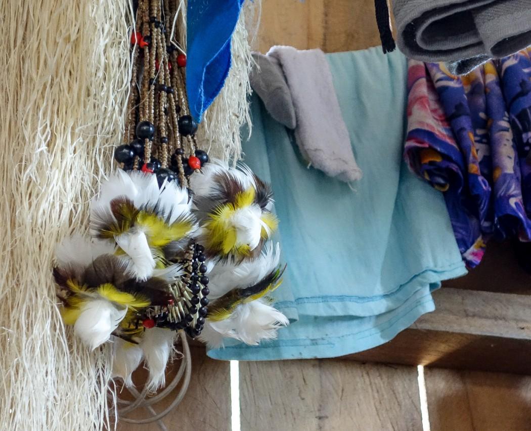 Ozdoby używane m.in. w ceremoniach z udziałem yage